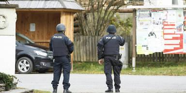 Polizist verletzt sich bei Jagd auf Doppelmörder