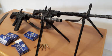 Steirische Polizei Sturmgewehre sichergestellt