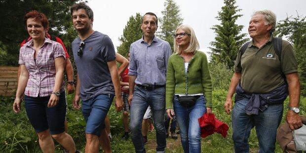 Kern mit Fan-Wandertag in der Steiermark