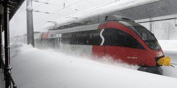 Lawinengefahr: Arlbergstrecke seit 7.00 wieder offen