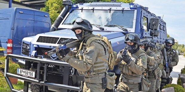 500 Polizisten für Putin