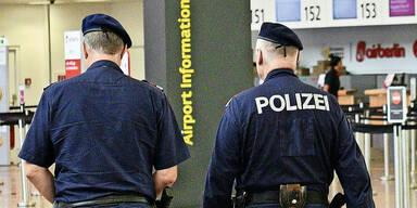 Flughafen Kontrolle Polizei