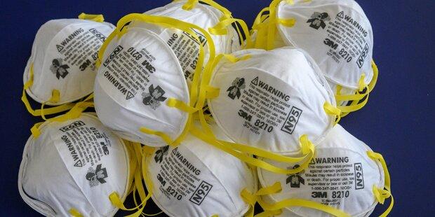 Schutzmasken für Salzburg hängen fest