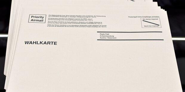 Wahlkarte gestohlen: Eisenstädter kann nicht wählen
