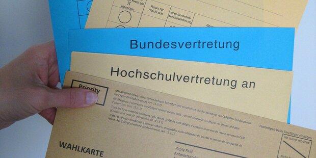 ÖH-Wahl: Wenig Verlust für AG trotz Nazi-Skandal