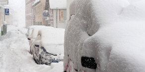 Schnee- und Regen-Alarm in Österreich