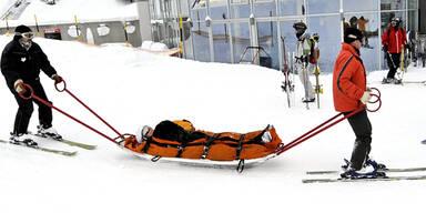 Skiunfall Piste Rettung