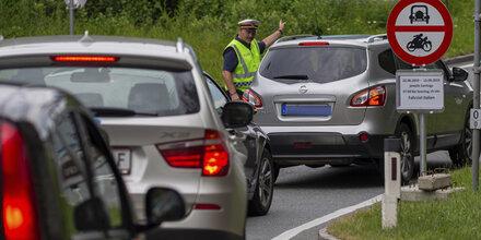 1.000 Zurückweisungen: Erste Bilanz der Tiroler Fahrverbote