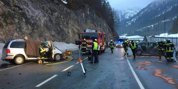 Ein Todesopfer nach Verkehrsunfall auf Tiroler Fernpass-Straße