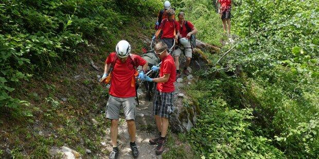 Kletterer stürzt 150 Meter ab – tot