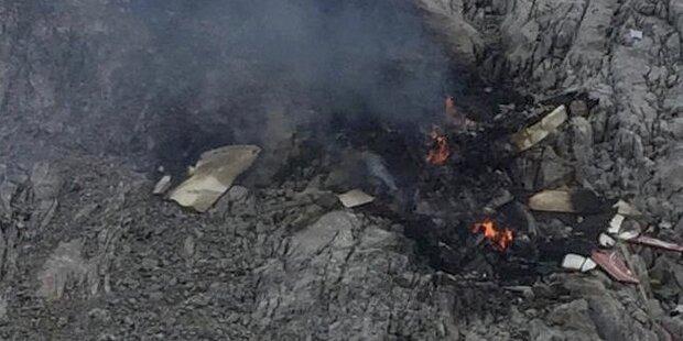 Kleinflugzeug abgestürzt – drei Tote