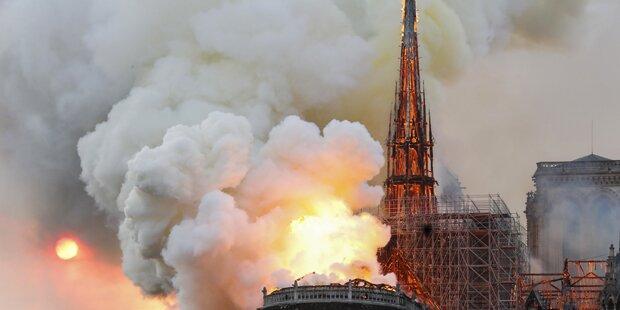 Video zeigt einstürzenden Turm