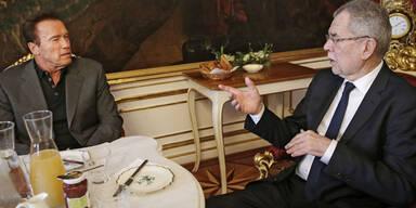 """""""Der Terminator"""" zu Gast bei Van der Bellen"""