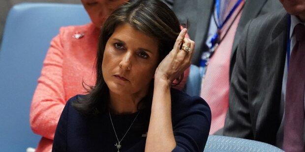 Trumps UN-Botschafterin Nikki Haley tritt zurück