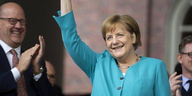 Merkel in Salzburg