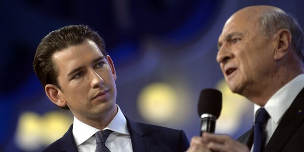 Wahlkampf: Kurz nimmt sich Pröll-Linie als Vorbild