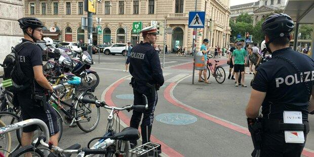 Hunderte Fahrrad-Fahrer in Wien angezeigt