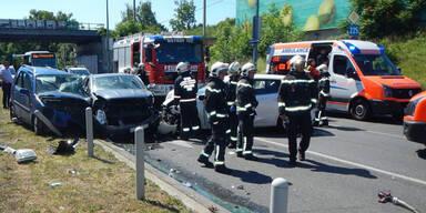 Unfall Wien-Simmering Baby in Lebensgefahr