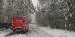 Schnee-Chaos Wien: Feuerwehr im Dauereinsatz