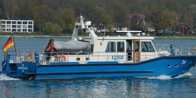 Flugzeug stüzte in Bodensee: Bergung unterbrochen