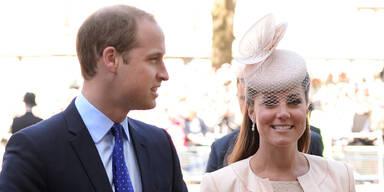 Kate: Erster Baby-Alarm
