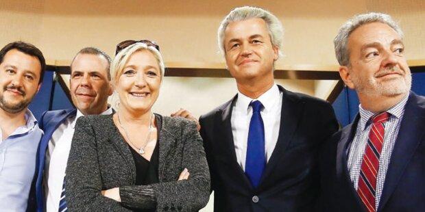 FPÖ: Allianz mit Le Pen und Hitler-Verehrern?