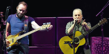 Konzert-Hit von Sting & Simon