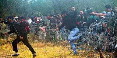 Asyl-Gipfel gegen das Flüchtlings-Chaos