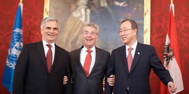 UN-General appelliert in Wien an Obama