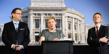 Burgtheater:  Karin Bergmann folgt interimistisch Hartmann nach