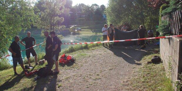 Bursch (17) in Teich ertrunken