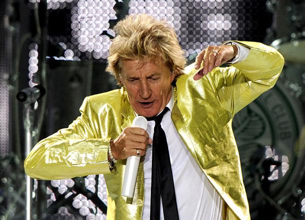 Rod Stewart rockte die Wiener Stadthalle
