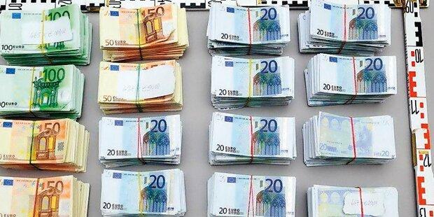 Größter Falschgeld-Fund Österreichs