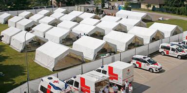 Asyl- Zelte jetzt auch am Wörthersee