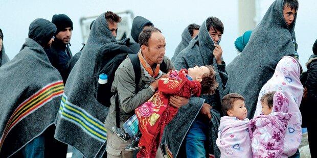 Flüchtlings-Leid immer schlimmer