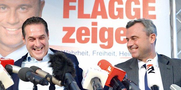 Hofburg-Wahl: Das Comeback der Burschenschafter in der FPÖ