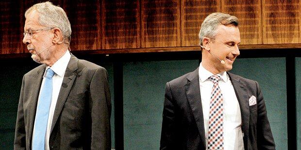 Morgen TV-Showdown um die Hofburg
