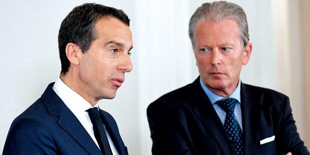 SPÖ & ÖVP rüsten sich für Neuwahl
