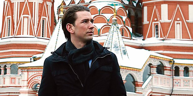 Moskau lobt Minister Kurz