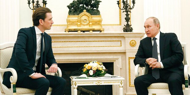 Putins Interesse für Österreich