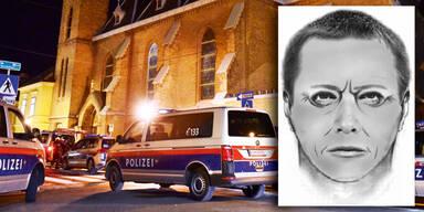 Kirche Floridsdorf Überfall Räuber