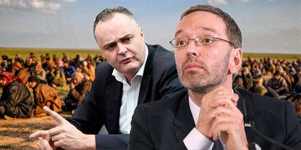 """Kickl: """"Doskozil hat IS-Fanatiker reingelassen"""""""