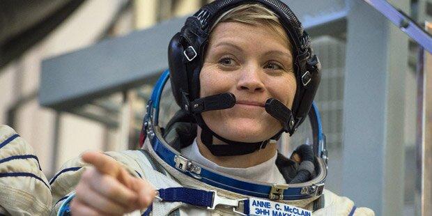 Anne McClain: Erste Straftat im Weltraum