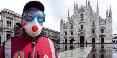 Mailand Coronavirus Italien Corona
