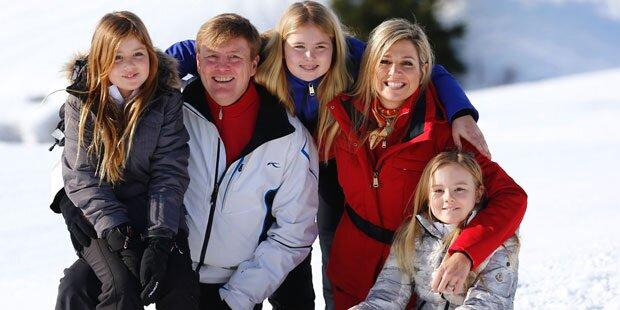 Königin Maxima: Ski-Urlaub in Lech