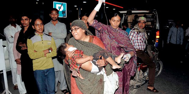 Pakistan: 35 tote Kinder bei Oster-Terror