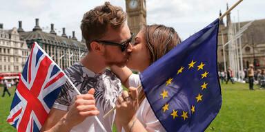 Hälfte der Europäer will Briten behalten