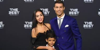 Cristiano Ronaldo: 1. Paarlauf mit Georgina