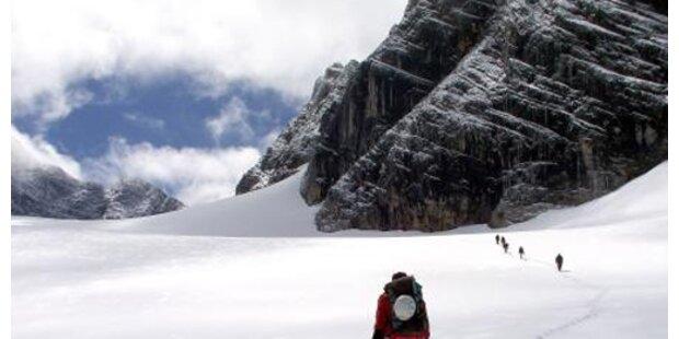 Verirrte Skifahrer vom Dachstein geborgen