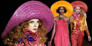Disco-Time auf der Fashionweek